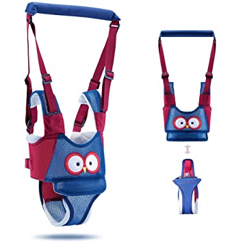Breathable Safety Baby Walking Helper for Toddler Infant Adjustable Baby Harness for Baby Walking Atomcool Baby Walking Harness Handheld Baby Walker