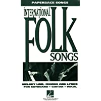 International Folksongs (Paperback Songs Series)