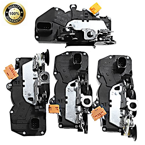 Front Rear Right &Left (4) Power Door Lock Latch Actuator For Chevy GMC Cadillac 2007-2009 (2008 Chevy Suburban Rear Door Lock Actuator)
