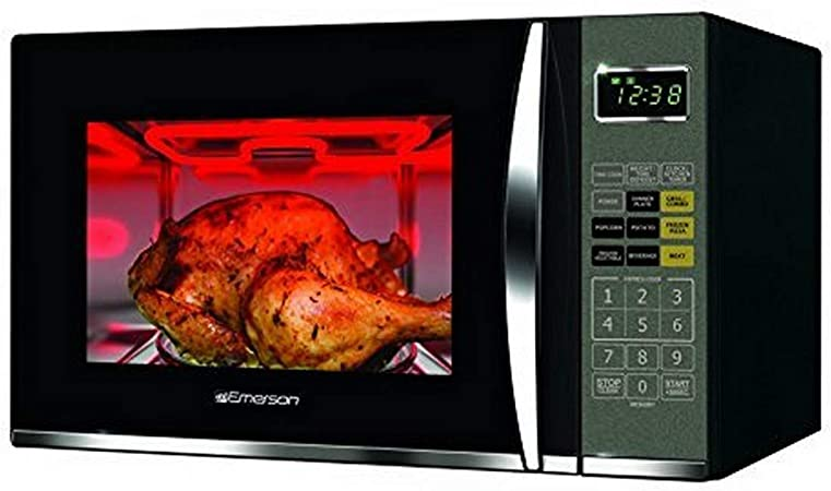 Emerson MWG9115SB 1.2 CU. FT. 1100W Griller Microwave Oven