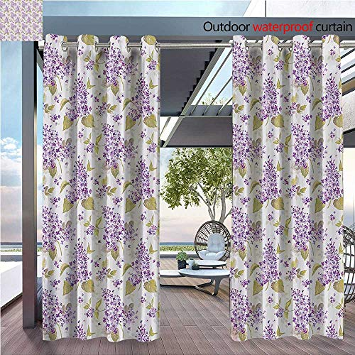 DESPKON Active Printing Fabric Polyester Material Retro Floral Petals Love Natural auty ICS Nostalgic Soft Plants Artwork for Outdoor Wedding W96 x L108 INCH