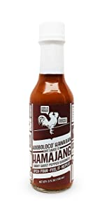 Adoboloco Hot Sauce Hamajang Hawaiian Spicy Chili Sauce - Very Hot Smoked Ghost Pepper Chili Sauce - Featured on Hot Ones!