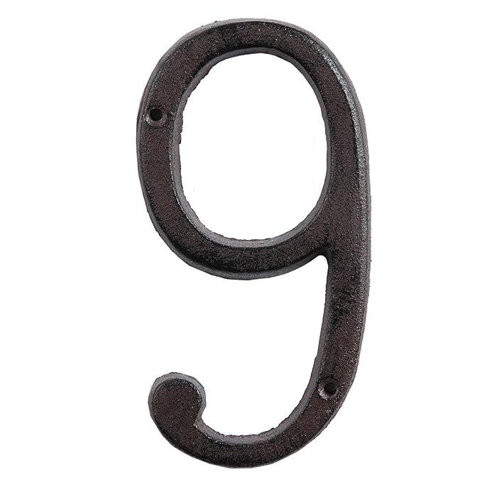Clayre /& Eef 6Y0264-8 Hausnumer Gusseisen Nummer 8