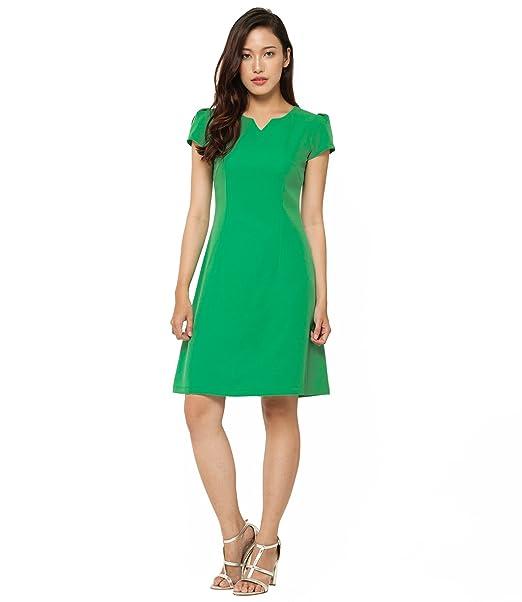Eterna Costa pashar Skater vestido pinegreen Verde Pinegreen 34