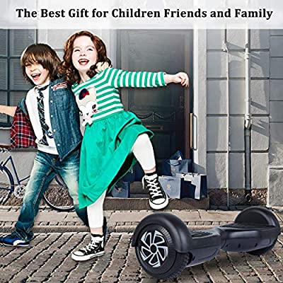 """Benedi Hoverboard 6.5"""" Two-Wheel Self Balancing Scooter UL2272 Certified Hover Board with Free Carrying Bag"""