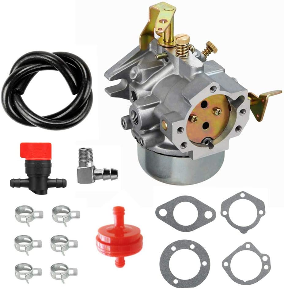 Cnfaner Carburetor for Kohler K241 K301 Cast Iron 10 HP 12 HP Carburetor with k241 Gasket kit