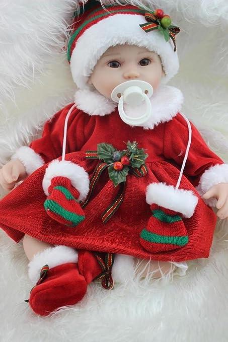 Amazon Com Npkdoll Reborn Baby Doll Soft Silicone 18inch 45cm
