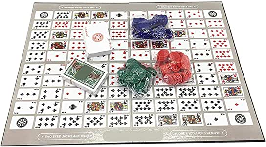 whelsara Big Chess Board Game Table Game Pattern Patrón Deluxe Sequence Tin (inglés y árabe) Family Board-Game, Sequence Game Chess Family Game Toy serviceable: Amazon.es: Hogar