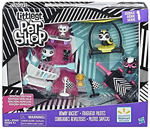 Hasbro Exclusivité littlest pet shop racers chahuteurs