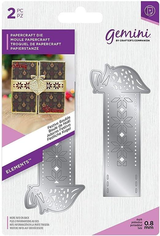Amazon.com: Crafter's Companion Gemini Elements Christmas Wrap Die