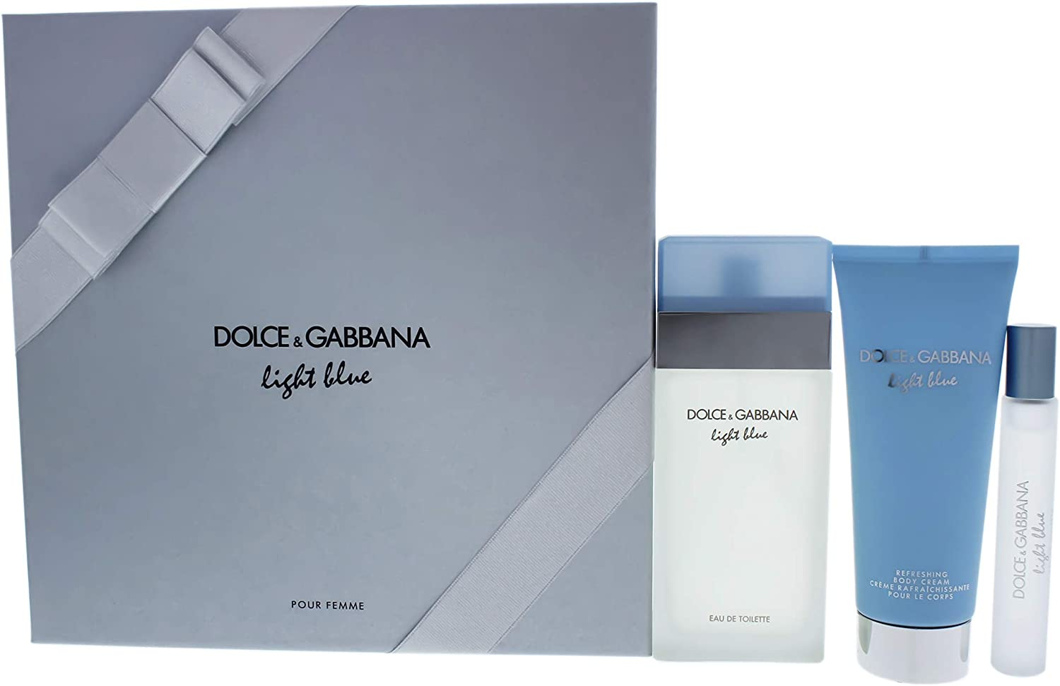 Dolce & Gabbana - Estuche de regalo eau de toilette light blue dolce & gabanna: Amazon.es: Belleza