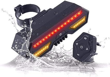 Sport LED Rear Bike Light USB Rechargeable Red High Intensity Bike Tail Light