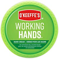 O'Keeffe's Working Hands Hand Cream for Extremely Dry, Cracked Hands, Heals, Relieves and Repairs, Boosts Moisture…