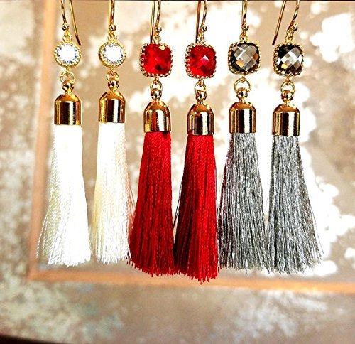 5b3915ce0d Amazon.com  Tassel Earrings
