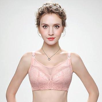 Longless Mama algodón cojín de lactancia Sujetador copa fina ropa interior de las mujeres embarazadas sin sujetador de acero: Amazon.es: Deportes y aire ...