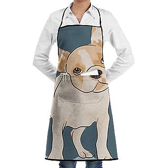 888b26e8adcd Amazon.com: Golf Cooking Apron Kitchen Apron with 2 Pockets ...