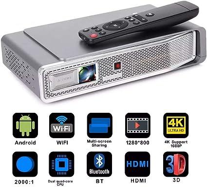 Cine en casa Proyector 3800 lúmenes Android Potente V5 Mini ...