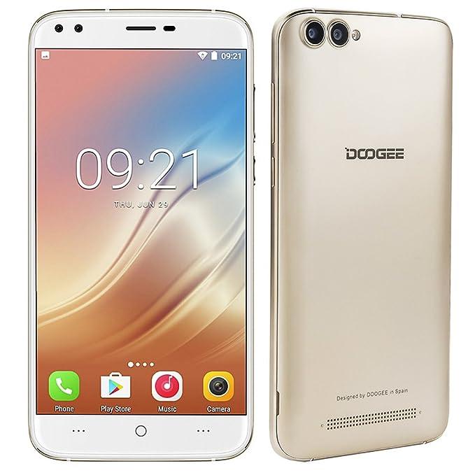 2 opinioni per DOOGEE X30 3G Smartphone 5,5'' HD Android 7,0 Doppie Camera 5MP + 8MP Quad Core