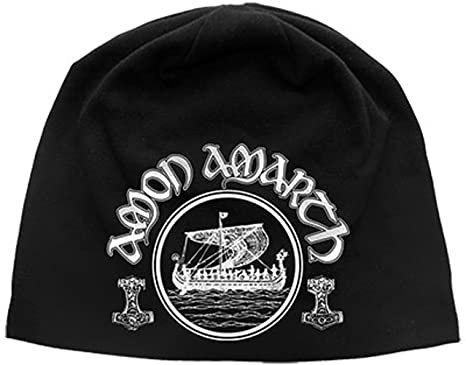 9781469eb18 Amon Amarth Viking Beanie Hat  Amazon.co.uk  Clothing