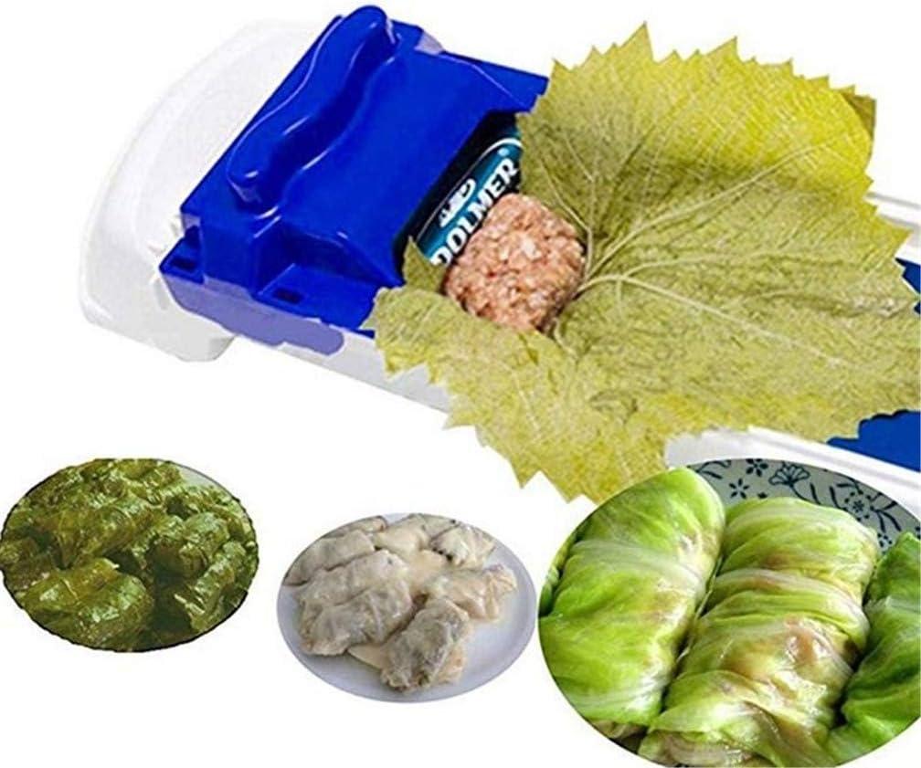 Gem/üse Fleisch Rolling Tools Dolmer Kohl Blatt Dolmer Magischer Roller gef/üllt Garpe Maschine Sushi Mold Moedor De Carne