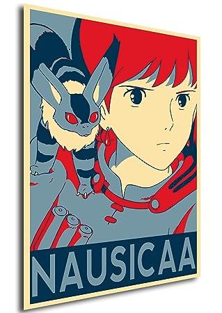 Poster Propaganda Ghibli Nausicaa