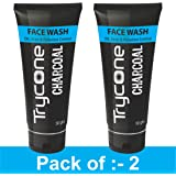 Trycone Activated Charcoal Face Wash, Pack Of 2-100 Gm