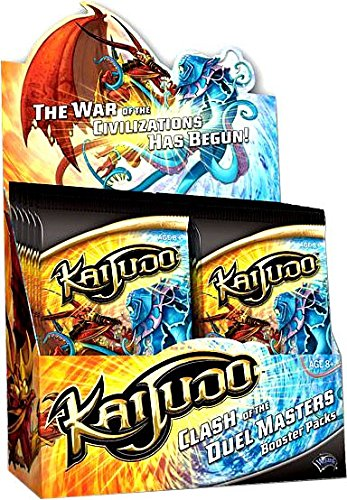 Duel Masters Trading Cards - Kaijudo Trading Card Game CLASH OF THE DUEL MASTERS Booster BOX [24 Packs]