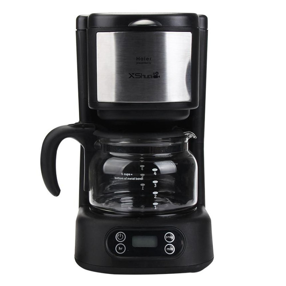 Xshuai BSD02 Velocity Brew Self Brew Timer 5-Cup Home Coffee Brewer Presented by Haier, Black