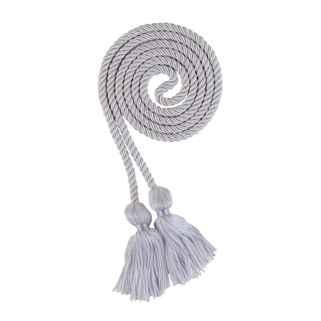 Honor Cords Academic Apparel White