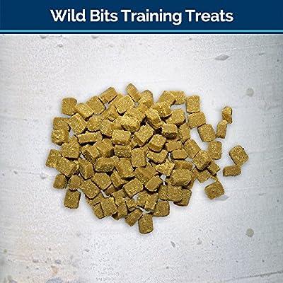 Blue Buffalo Grain Free Dog Training Treats Trail Treats Wild Bits Chicken 4Oz