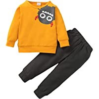 Borlai Niños Bebés Niños Trajes de Moda Conjunto de Chándal Sudadera con Capucha de Manga Larga + Pantalones para 1-6…