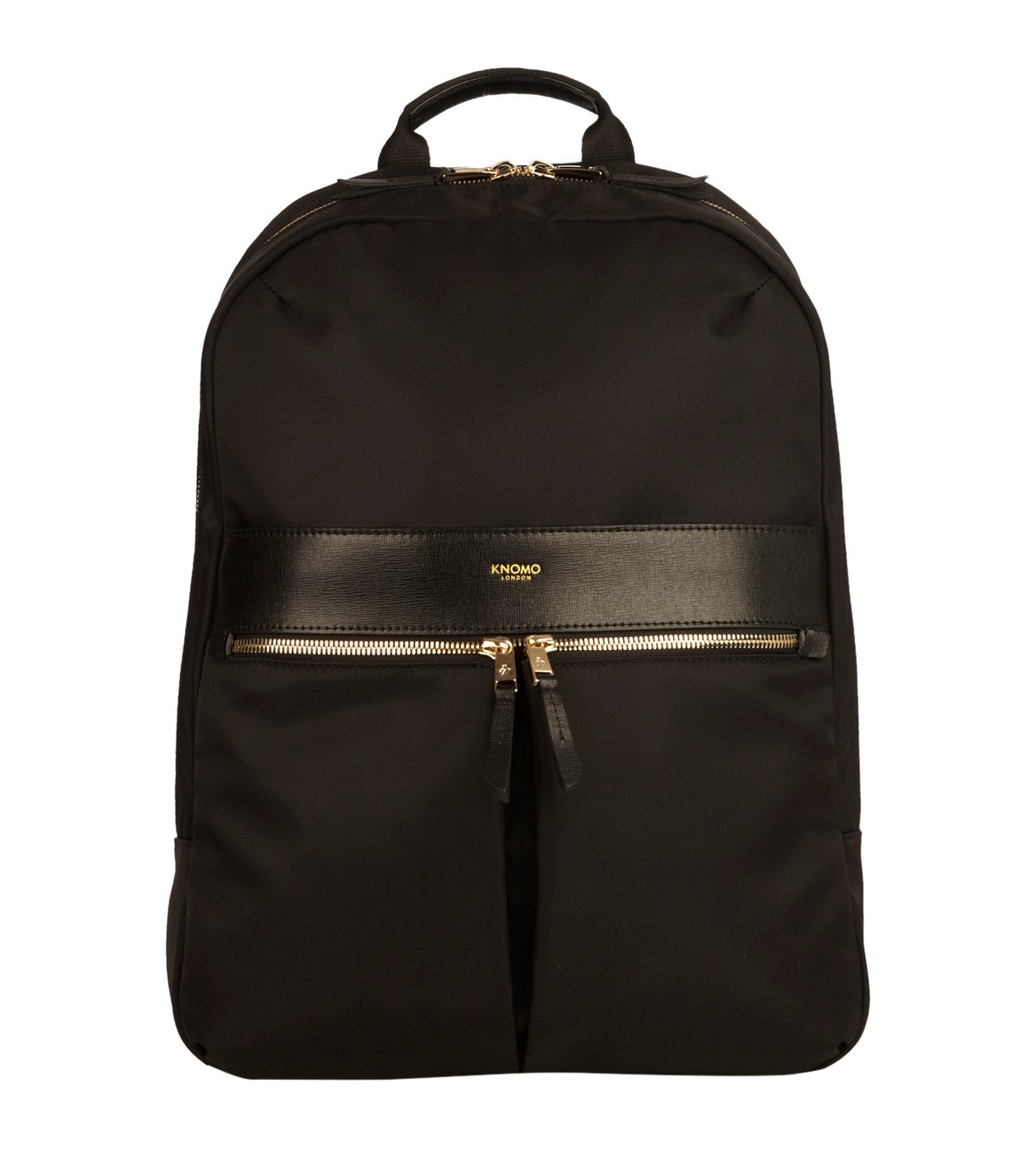 Knomo Luggage Beauchamp 14 Business Backpack 16.5 X 11.6 X 3.9, Black, One Size by Knomo