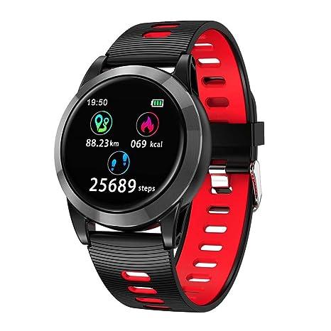 iBaste_top R15 Reloj Deportivo Inteligente Multifunción Pantalla Completa Monitoreo de Frecuencia Control de la Presión Arterial