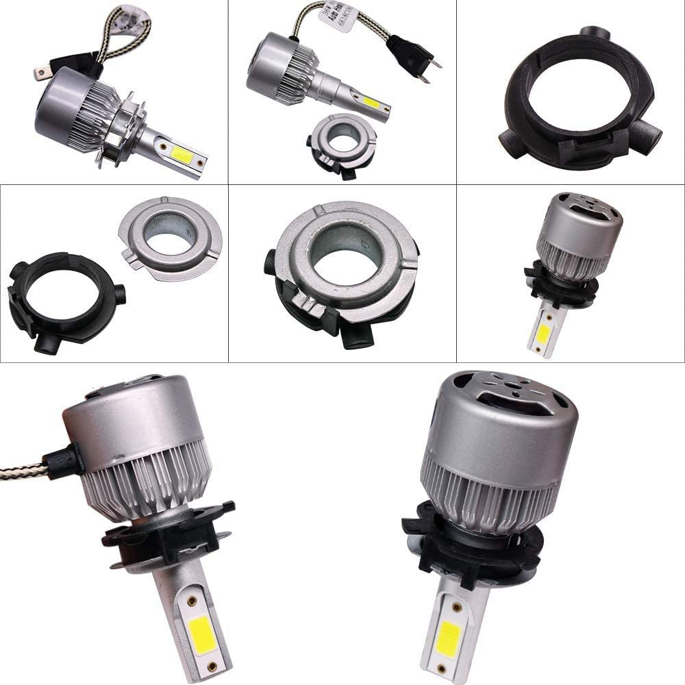 H7 LED Headlight Car Bulb Adapter Holder Socket for KIA K3 K4 K5 Sorento SportageR Coupe Grand Santa Fe Hyundai Sonata9 Coupe Veloster