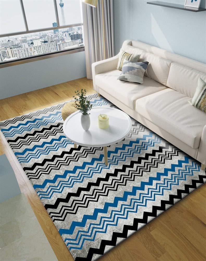 Insun Teppich Skandinavischer Stil Teppich Moderner Geometrische Formen Teppich Anti Rutsch Abwaschbarer Stil 24 160x200cm B07KCJYVTW Teppiche