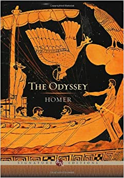 a review of the book odyssey by homer For 2012, i thought that i'd spend the year devoting myself to books that involve,  or, in some way, invoke the idea of traveling these will range.