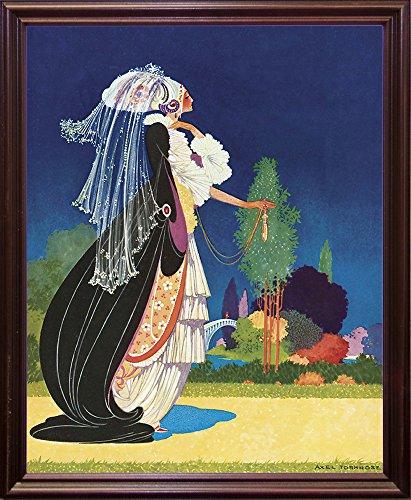 Art Nouveau Veil-VINAPP122745 Framed Print 14