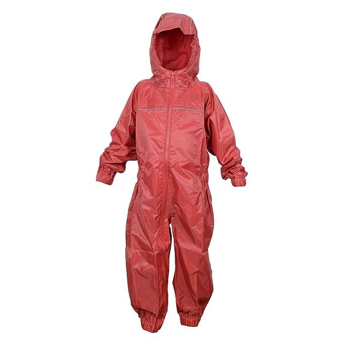 119a76c30b82 DRY KIDS Childrens Waterproof Rainsuit
