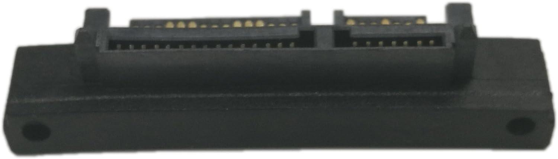 15 Adaptateur angle droit Adaptateur m/âle-femelle SATA convert Convertisseur dextension m/âle CERRXIAN 3.5 et 2.5 pouces SATA 22Pin 7 15 m/âle vers SATA 22P 7