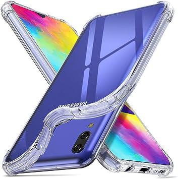ORNARTO Funda Samsung M20,M20 Carcasa Silicona Transparente Protector TPU Airbag Anti-Choque Ultra-Delgado Anti-arañazos Case Caso para Teléfono Samsung Galaxy M20(2019) 6,3