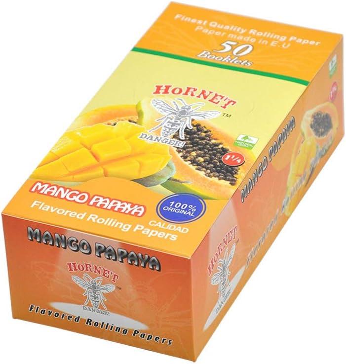Ghoody - Papel para cigarrillos con sabor a frutas (2 volúmenes, 100 unidades)