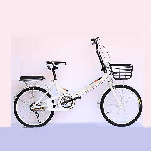 XYSQ Adultos De 20 Pulgadas Bicicletas Plegables, Bicicletas ...