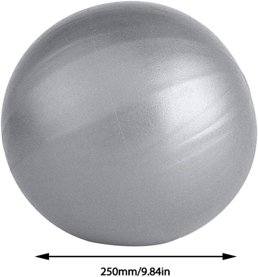 Rouku Mini Yoga Pilates Ball Explosion-proof Pvc Fitball For Stability Exercise Training Gym Anti Burst/&slip Resistant Straw