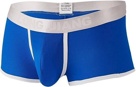 Hombres BóXers, Winwintom Hombre Ropa Interior Underwear, Calzoncillos para Hombres Slips De AlgodóN De La Ropa Interior Transpirables CóModos Interio: Amazon.es: Ropa y accesorios