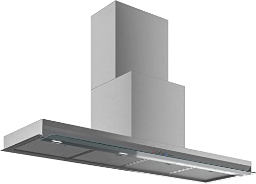 Amazon Com Futuro Futuro Shade 48 Inch Wall Mount In Cabinet Modern Range Hood Italian Desing Vent Hood Stainless Steel Flip Glass Led Ultra Quiet With Blower Appliances