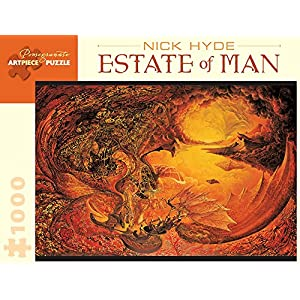 Nick Hyde Estate Of Man 1000 Piece Jigsaw Puzzle Inglese