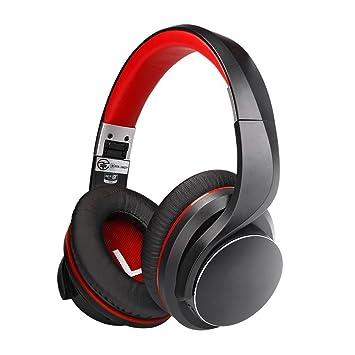 DUHOULI Auriculares Inalámbricos De Baja Latencia Bluetooth 4 2 Over-Ear Sonido Amplificado De Sincronización De Labios con Micrófono para Juegos: ...