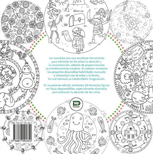 Mandalas para estimular la atención de los niños. Libro para ...