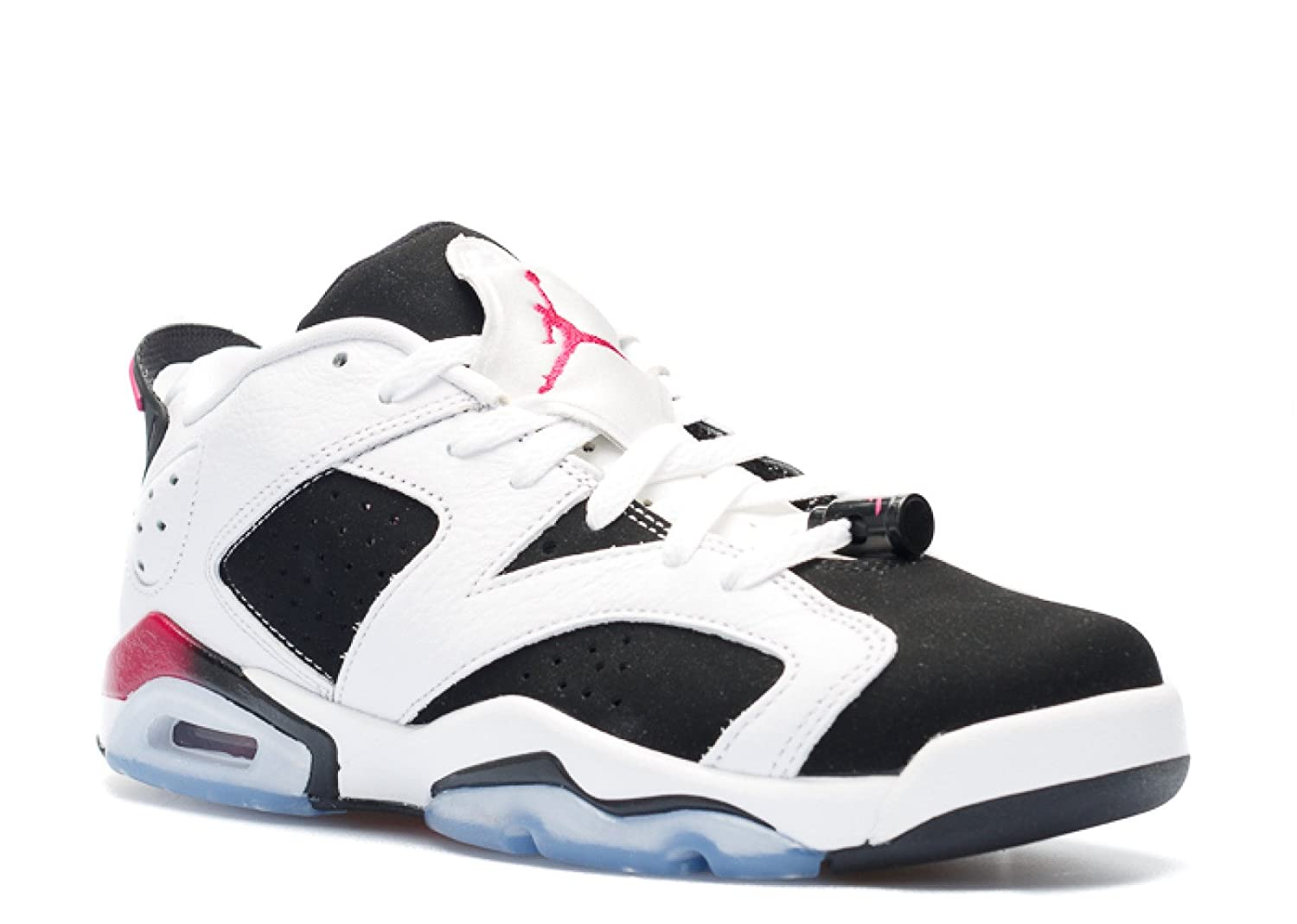 58f0ea3e6a3e2 Nike Air Jordan 6 Retro Low GG, Youth Basketball Shoes, White/Sport Fuchsia  - Black
