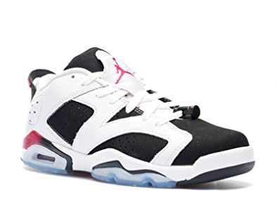 best sneakers 02e89 16fe6 Nike Air Jordan 6 Retro Low GG, Youth Basketball Shoes, WHITE   SPORT  FUCHSIA
